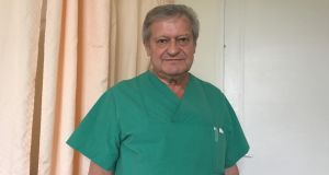 Dr Janusz Rudzinski: the Polish-born gynaecologist has practised in Germany since 1981