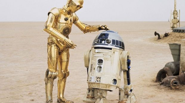 20th Century Fox posted a photograph of C3PO standing next to Baker's Star Wars character, and wrote: 'Rest in peace, Kenny Baker, the heart and soul of R2D2.'