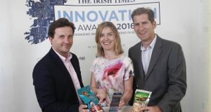 Brandtone's Donald Fitzmaurice, Dervilla Mullan and Ruairi Jennings: Brandtone  uses mobile technology to facilitate a variety of interactions between brands and traders.