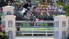 Jose Maria Larocca of Argentina riding Cornet Du Lys competes during the Jumping Individual and Team Qualifier on Day 9 of the Rio 16 Olympic Games. Photo: Christian Petersen/Getty Images