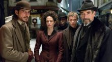 Actors Josh Hartnett, Eva Green, Danny Sapani, Harry Treadaway and Timothy Dalton as Sir Malcolm in the 'Penny Dreadful' fantasy-horror series. Photograph: Jonathan Hession/Showtime