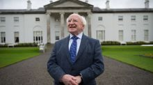 A raffle will take place to allocate a limited number of tickets which will provide entry to Áras an Uachtaráin, the presidential home of Michael D Higgins (pictured)  and his wife Sabina, on Friday, 16th September to mark Culture Night. Photograph: Frank Miller/The Irish Times.