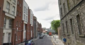 A general view of Green Street in Dublin where a group of squatters, who moved into a disused prison, have been told by a judge to leave the former debtors' jail because of safety concerns. Image: Google Streetview.