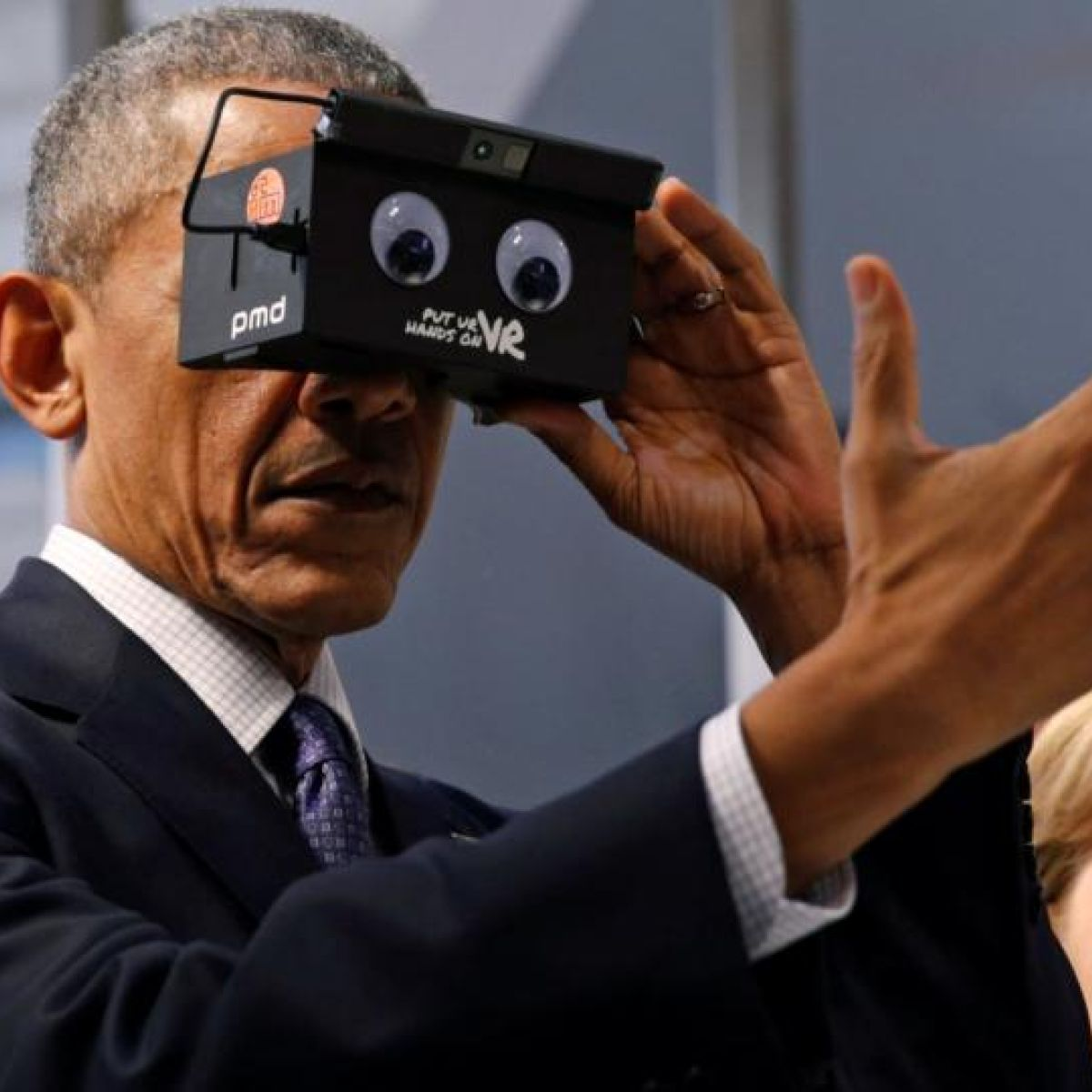 Barack Obama Porn virtual reality: it's more than shoot-'em-up games and full