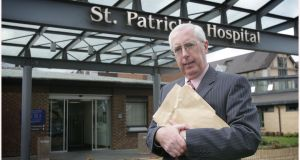 "The payment of a personal cheque by Dr John Griffin (above) to a patient as a full and final settlement of a complaint, without admission of liability, was ""unconventional"", an investigation by St Patrick's Mental Health Services has found.  File photograph: Brenda Fitzsimons/The Irish Times"