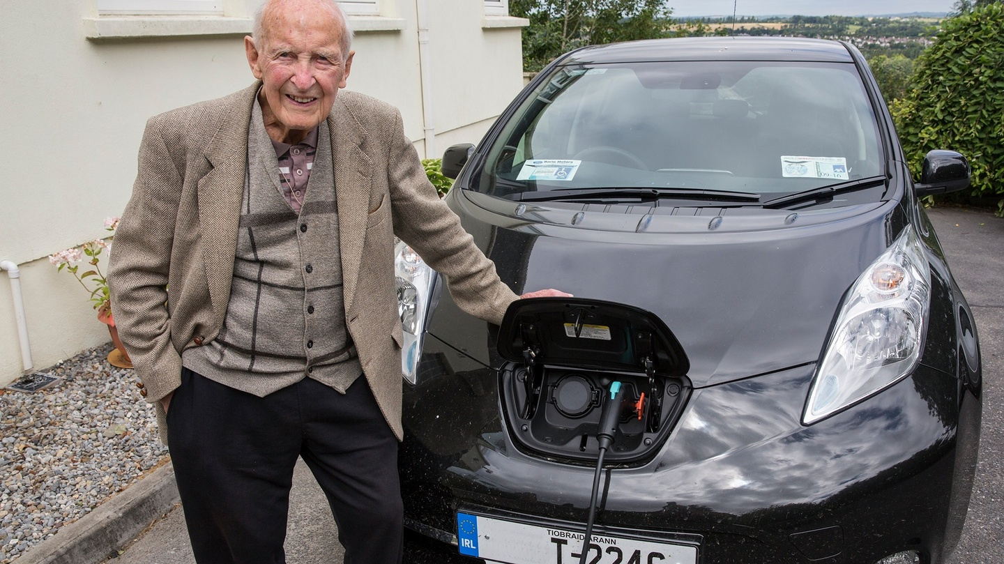 Clonmel driver finally makes switch to electric cars - at age 100