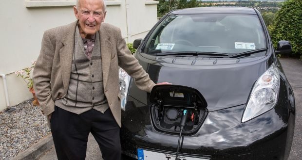 Clonmel Man John Walsh 100 Has Made The Switch To Electric Driving Help