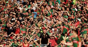 "Mayo GAA: ""Supporters should be aware that the only funds raised that go towards our team training funds are those raised under our Cáirde Mhaigheo fundraising umbrella."" Photograph: Inpho/James Crombie."