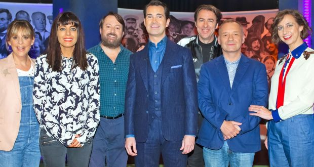 Last night's TV - The Big Fat Quiz of Everything: fingers on