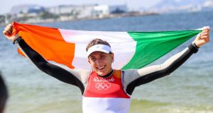 Annalise Murphy proved she can master all conditions as she sailed to an Olympic silver medal in Rio. Photograph: Inpho/James Crombie
