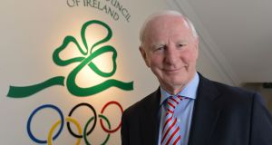 Pat Hickey, president of the Olympic Council of Ireland. Photograph: Alan Betson / The Irish Times