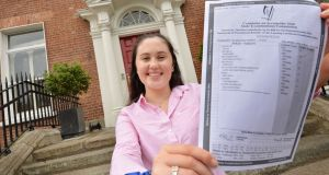 Leaving Cert: Top student 'floating on cloud' after eight A1s
