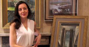 Adelle Hughes, head of the art department, Whyte's, Dublin