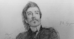 JM Synge: buried at Mount Jerome, Dublin. Drawn by Jack B Yeats. Photograph: National Gallery of Ireland/DeAgostini/Getty