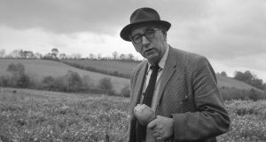 Patrick Kavanagh: buried at St Mary's, Inniskeen, Co Monaghan. Photograph courtesy of the Wiltshire Collection, National Library of Ireland