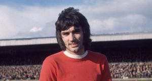 George Best: buried in Roselawn, Belfast. Photograph: Central Press/Getty