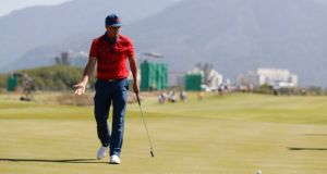 "Rickie Fowler:  ""The Ryder Cup is the best team event there is in golf."" Photograph: Erik Lesser/EPA"