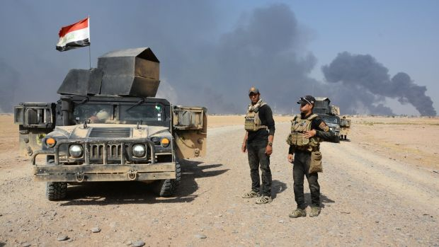 Iraqi security forces are preparing for an offensive that could be days or weeks away. Photograph: Reuters