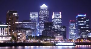 Canary Wharf is seen as a touchstone for the impact of Brexit. Photograph: iStock