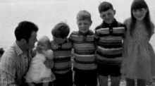 When Tony Doherty was 9, his father Paddy was killed on Bloody Sunday