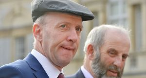 Michael and Danny Healy Rae   ahead of the first meeting of the 32nd Dáil at Leinster House earlier this year. File photograph: Alan Betson/The Irish Times