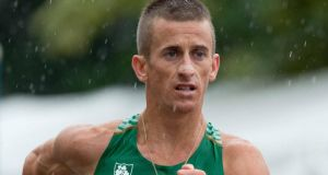 Ireland's Rob Heffernan will be striding out in the men's 50km in Rio. Photograph: Morgan Treacy/INPHO
