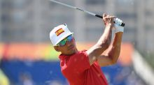 Rafa Cabrera Bello in action last week during the Olympics. Photograph: Ross Kinnaird/Getty Images