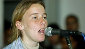 Rachel Corrie, an American peace activist who was crushed to death while undertaking nonviolent direct action in Palestine. Photograph: Abid Katib/ Getty Images
