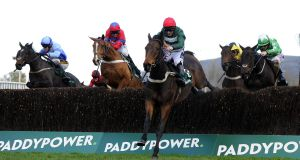 The Paddy Power Handicap Chase at Cheltenham, 2015: the bookmaker and betting exchange merged in  February 2016. Photograph: Harry Trump/Getty Images
