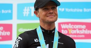 Nicolas Roche fell ill the day after competing in the Olympic road race. Photograph: Bryn Lennon/Getty Images