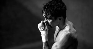 Michael Conlan's post-defeat interview was grief in sport at it's most cruel. Photograph: Dan Sheridan/Inpho