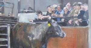 Ballinglen Arts Foundation: from one of Cora O'Brien's paintings of a local mart