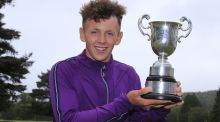 Rosslare's John Brady carded a final round 70 to win the Irish Under-16 Championship.