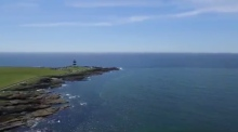 Drone footage captures Ireland's stunning coastline