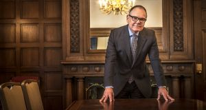"Don Tapscott: ""If I send you €100 it's really important that I don't still have the money and that I can't send it to somebody else."" Photograph: Ana Grillo"