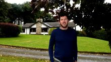 Shane Horgan outside his home in Bellewstown, Co Meath. Photograph: Cyril Byrne