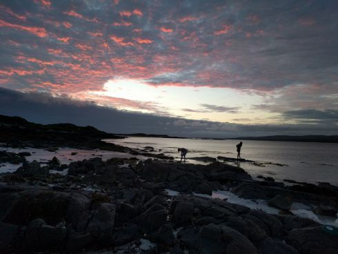 Crab fishing in Connemara.  Photograph: Jessica McDowell