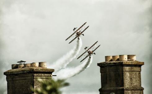 Bray Air Display. Photograph:  Egita Feldberga