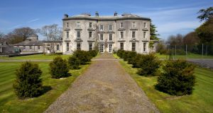 Loughton House, a 13-bedroom Georgian mansion in Moneygall, Co Offaly