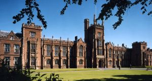 A 1989 report by the Fair Employment Agency on Queen's  University Belfast, which then employed 3,000 staff, showed 79 per cent of the Northern Ireland-born employees were Protestant and 21 per cent Catholic. File photograph: Queen's University Belfast