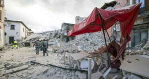 Gallery: Italy earthquake Before and after images of towns