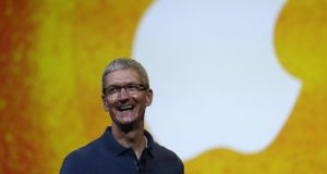 Tim Cook marked his five-year anniversary as Apple's chief executive officer on Wednesday.