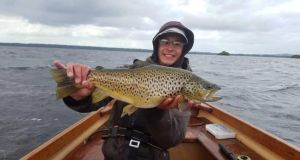 The heaviest fish on Sheelin last week was a trout of 3.6kg caught by Slane angler Christopher Defillon.