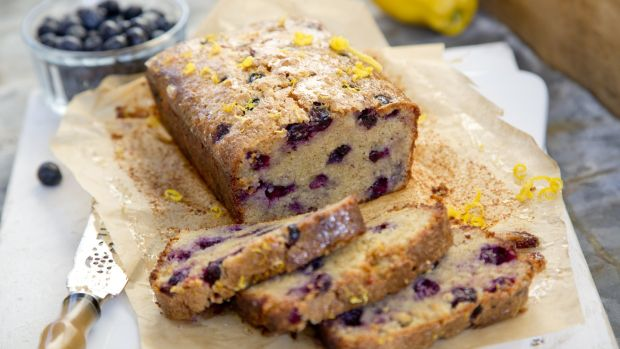 Blueberry And Lemon Loaf Cake