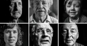 Portraits of descendants of 1916 volunteers with connections to Tipperary by photographer Damian Drohan from his multimedia exhibition..the exhibition runs from 26th August to 27th September at the Main Guard, Clonmel, Co. Tipperary.