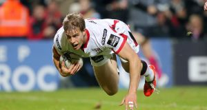 """It's important that our skillset, our fitness levels, our game awareness, everything moves up,"" says Ulster's Andrew Trimble. Photograph: Darren Kidd/Inpho/Presseye"