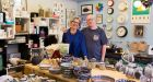 Tom Keane and Claire Graham, owners of The Old Mill Stores in Connonagh Village, Co Cork –  winners of the Best Craft/Gift Shop category. Photograph: Emma Jervis