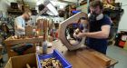 A guitar in the making: Lowden Guitars in Downpatrick, Co Down. Photogrpah: Colm Lenaghan/Pacemaker