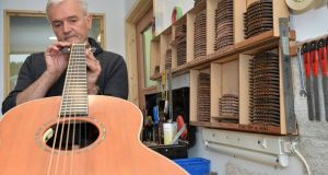 George Lowden, owner of Lowden Guitars in Downpatrick, Co Down. Photograph: Colm Lenaghan/Pacemaker