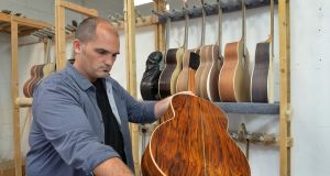 David Ausdahl, business director   at Lowden Guitars in Downpatrick, Co Down. Photograph:  Colm Lenaghan/Pacemaker